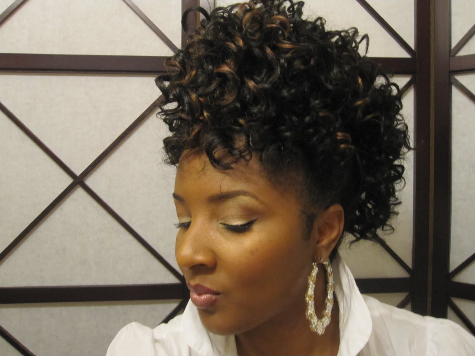 model hairstyles for drawstring ponytail hairstyles for black hair ponytails