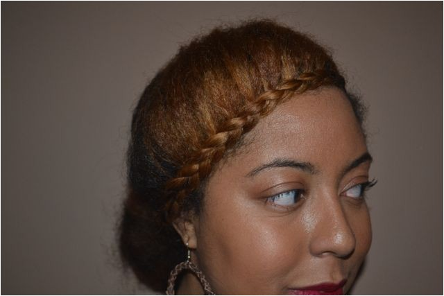 weekend hair draya from basketball wives inspired braid
