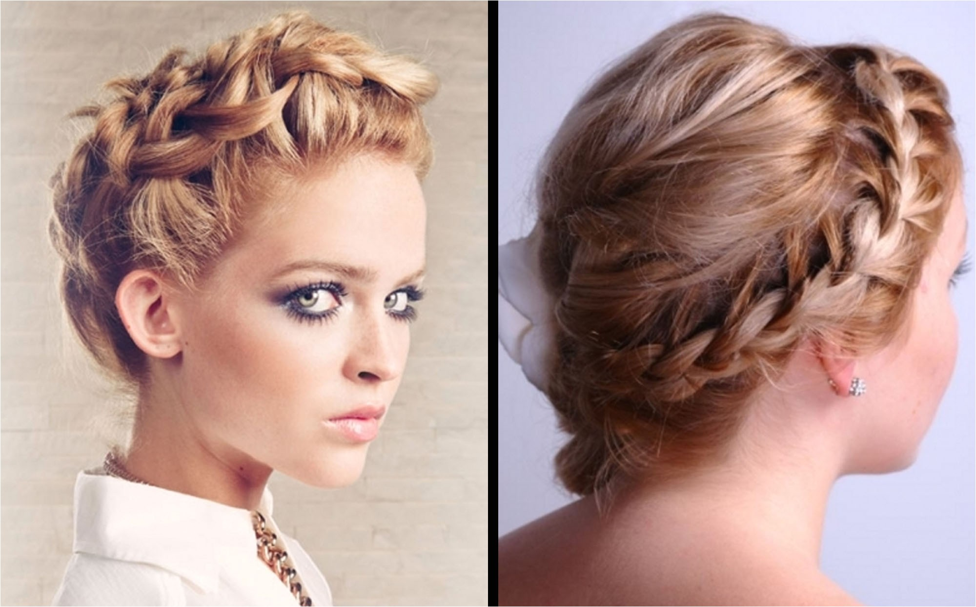 formal hairstyles of braided updo hairstyles as wedding hairdo by hair salon