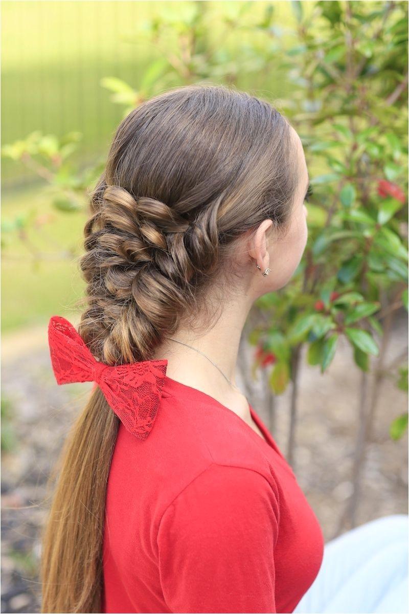 Banded Puff Braid · Mermaid HairstylesHairstyles With BraidsCute Girls
