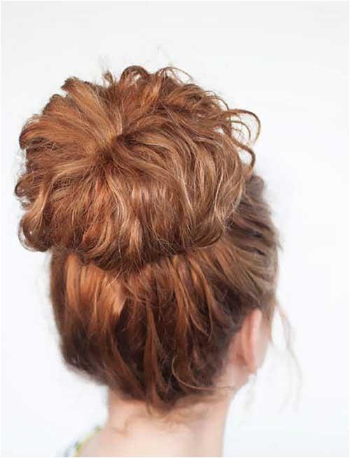 15 bun hairstyles for curly hair