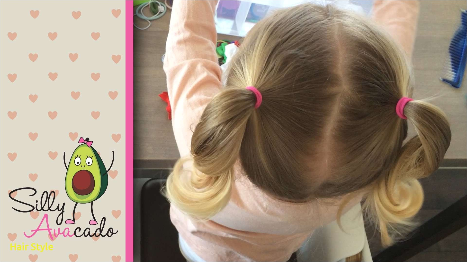 ponytails 6 easy back to school ponytail hairstyles for toddler girls how to do ponytail pigtails
