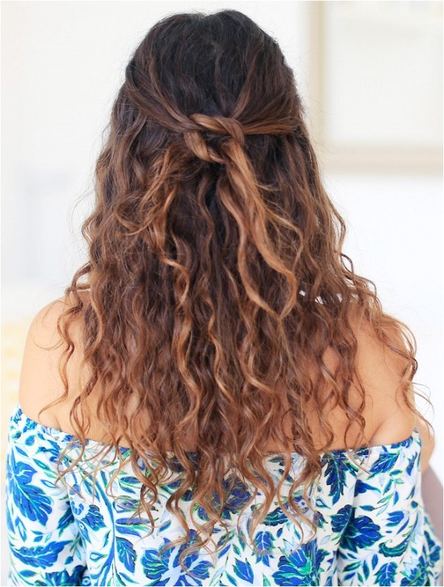3 easy to make hairstyles naturally curly hair