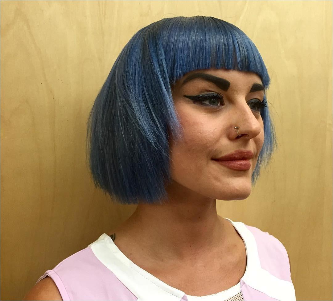 edgy bob haircuts with bangs
