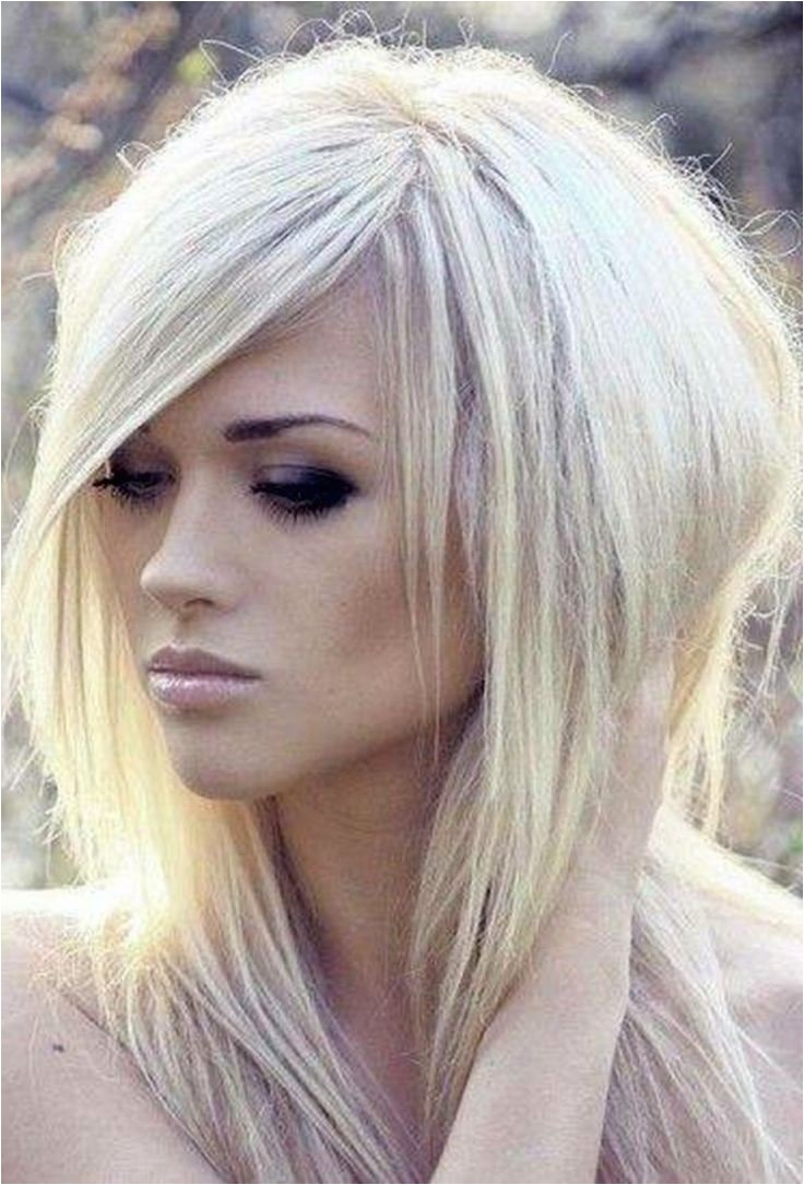 edgy long bob hairstyles