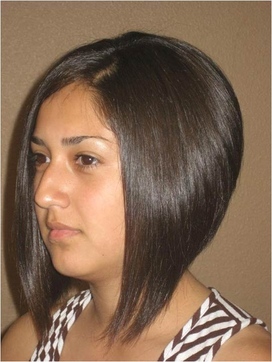 elevated bob haircut pictures back