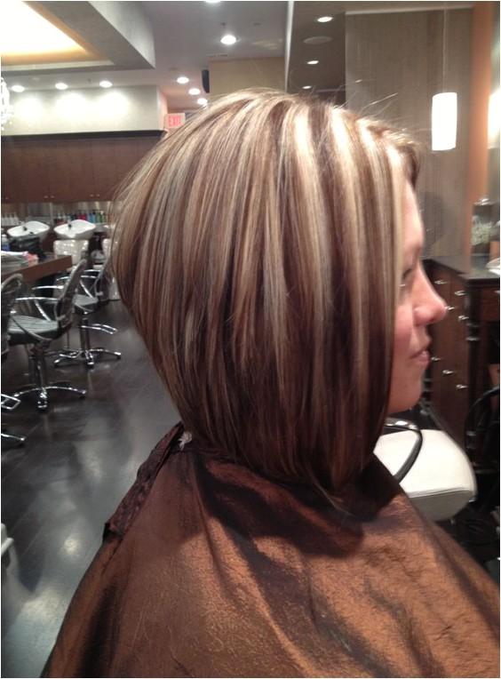 medium length a line haircut