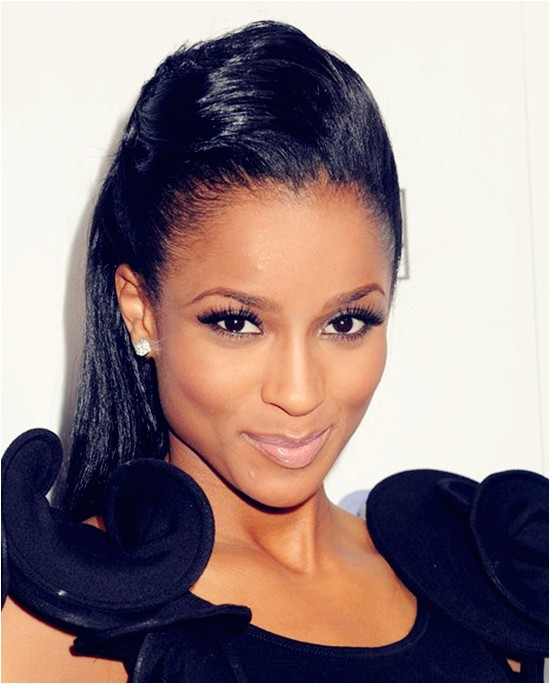 chic winter hairstyles for black women with black hair extensions blog78