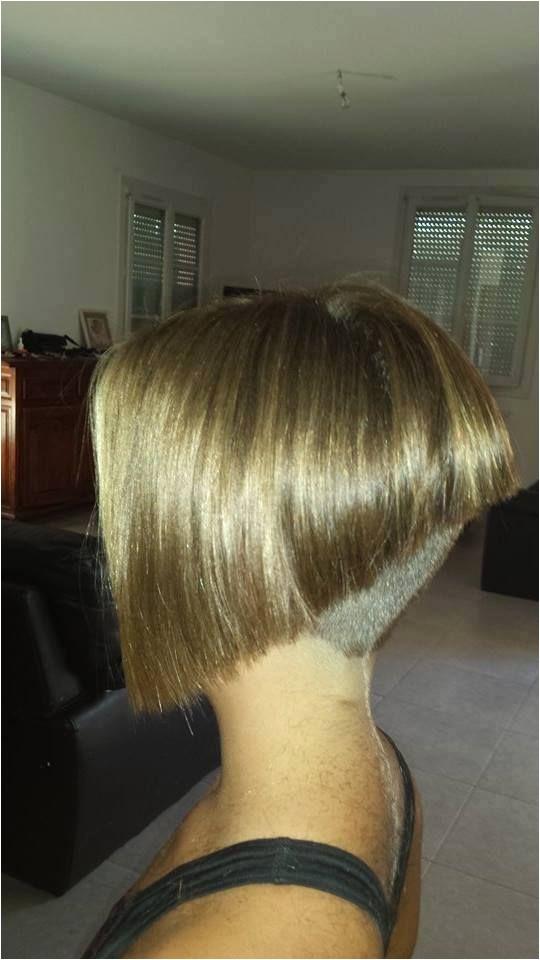 extreme bob haircut