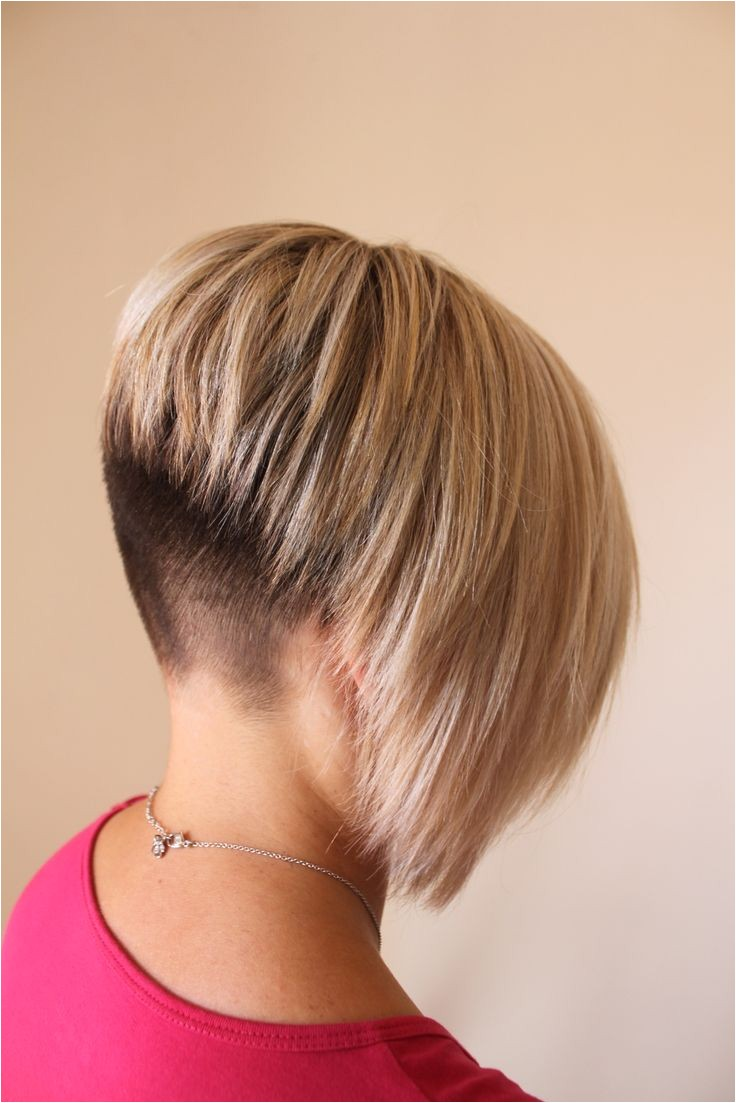 extreme undercut bob haircuts
