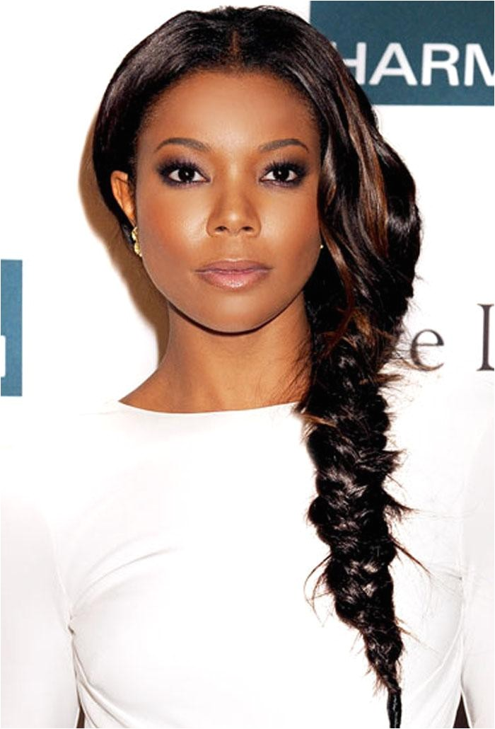 Fishtail Braid Hairstyles for African Americans African American Fishtail Braids Hairstyles
