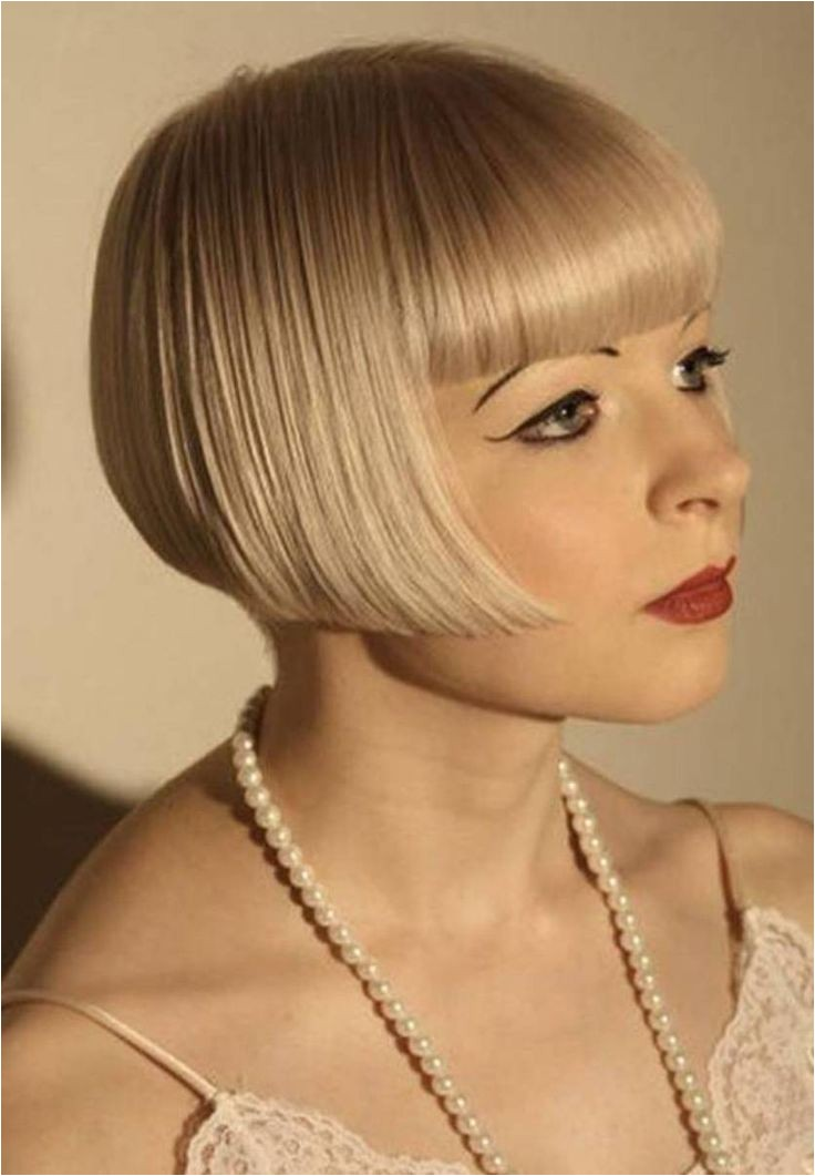 flapper hairstyles