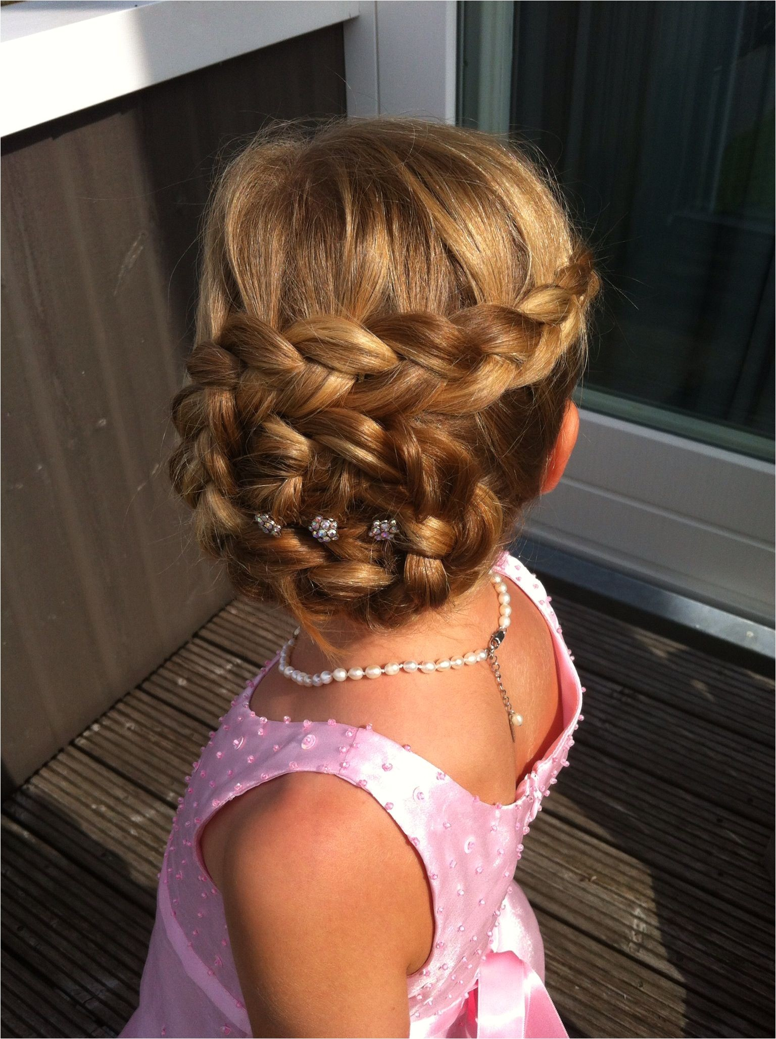 Kid Hair · Flower girl inspiration loved by