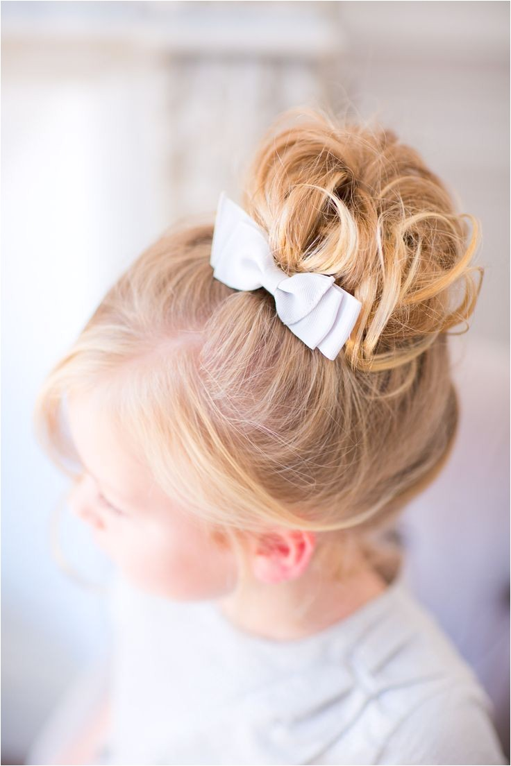 The Vault Curated & Refined Wedding Inspiration Style Me Pretty toddler girl hair wedding