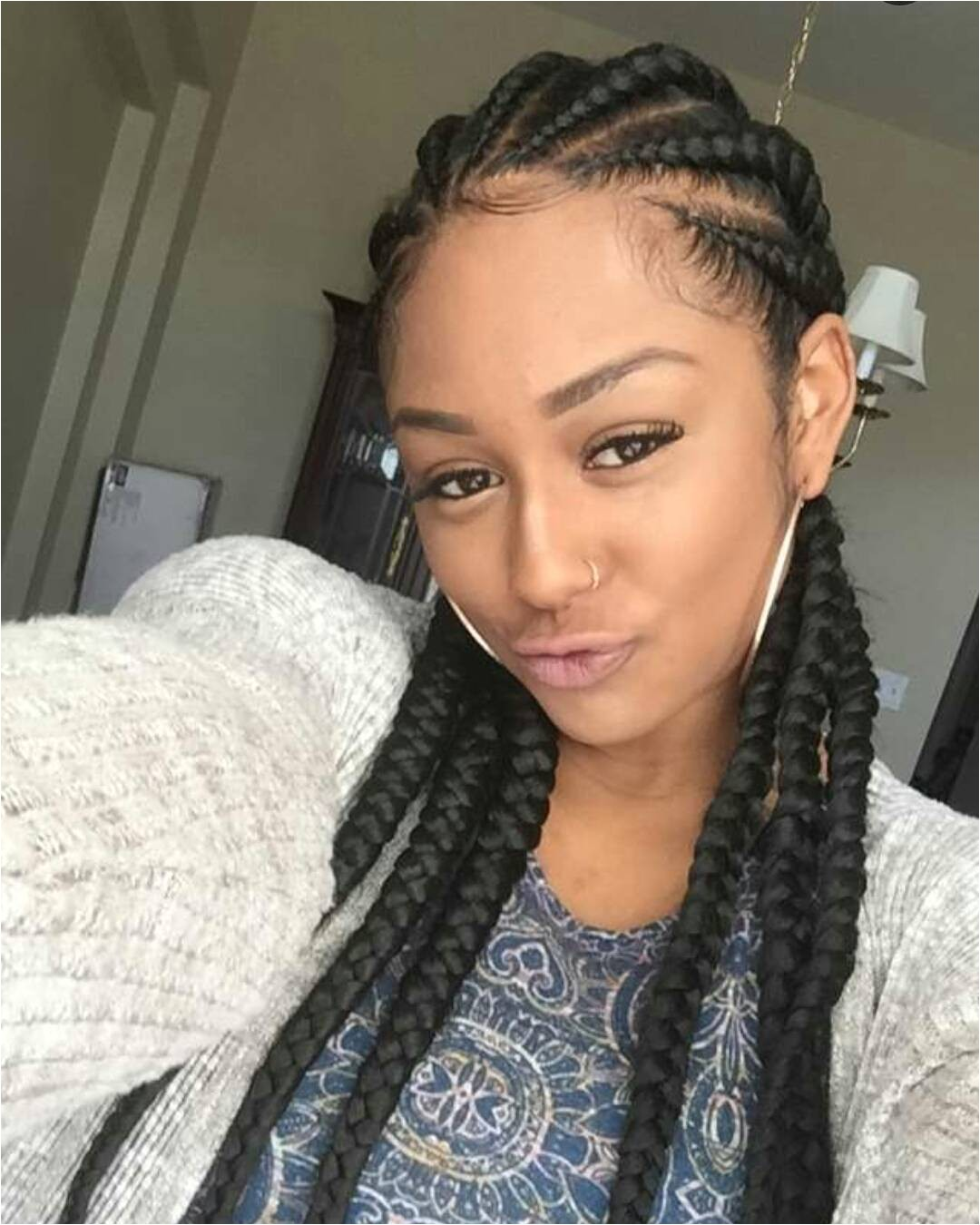 black women cornrows for big forehead and long faces 80 best braided hairstyles for black women 2017 page 15 of 61