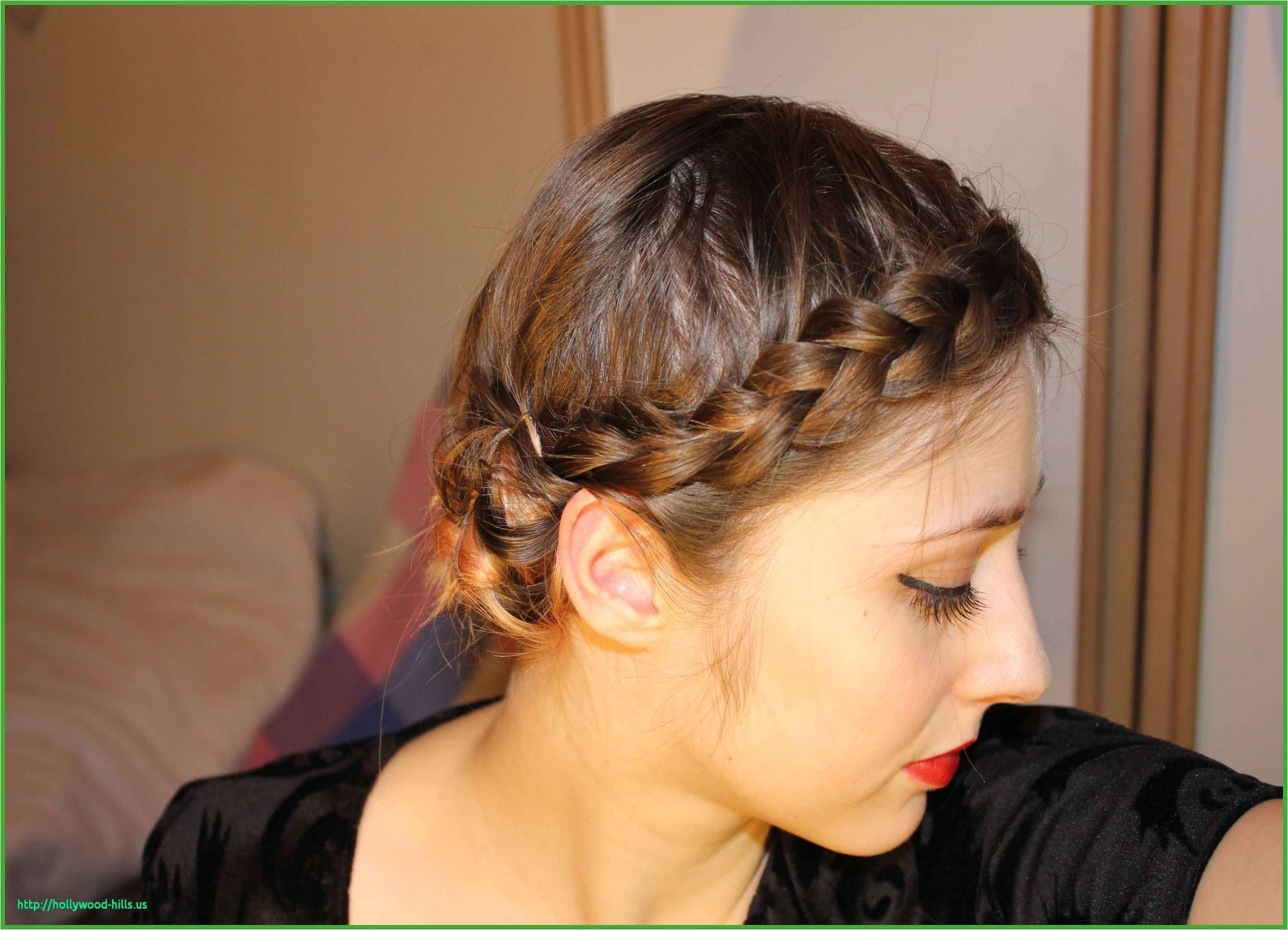 Braided Hairstyles for Short Thin Hair Luxury Hairstyles for Thin Hair Braids Beautiful Easy Braided Updo