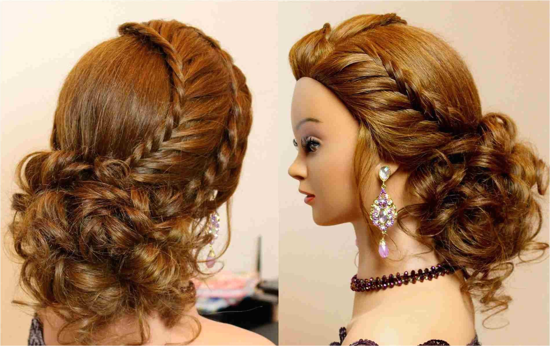 style prom hairstyles for long hair 2016 tutorial cute updo with braids youtuberhyoutube updos ideas updos