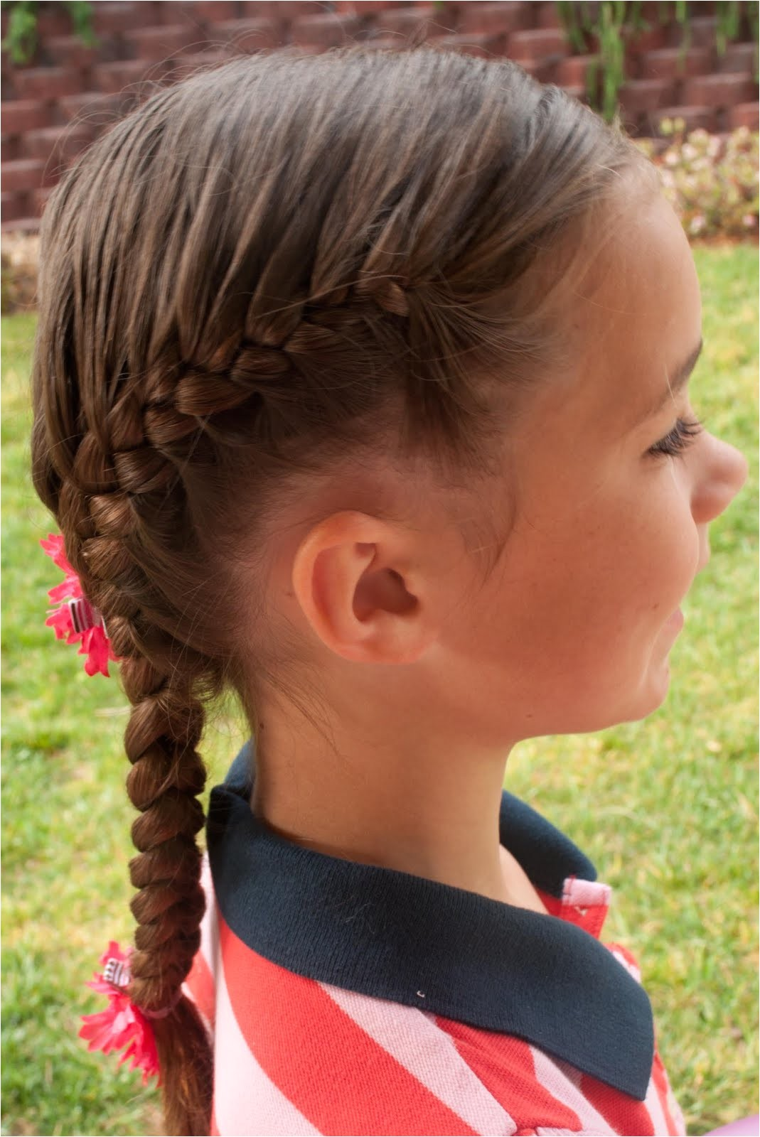 French Braid Hairstyles for Kids French Braid Hairstyles