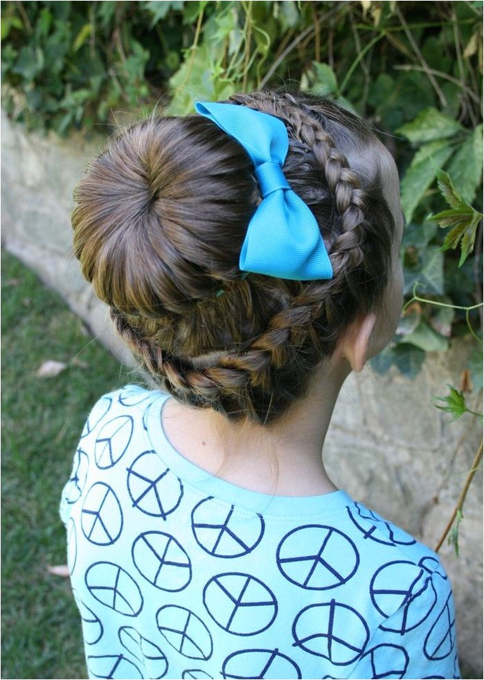 french braids hairstyle for kids