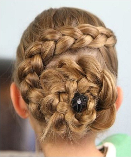 cute french braid hairstyles for little girls for birthday party