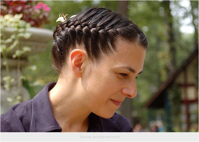 French Braid Hairstyles for Natural Hair 1