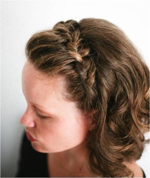 braids short hair