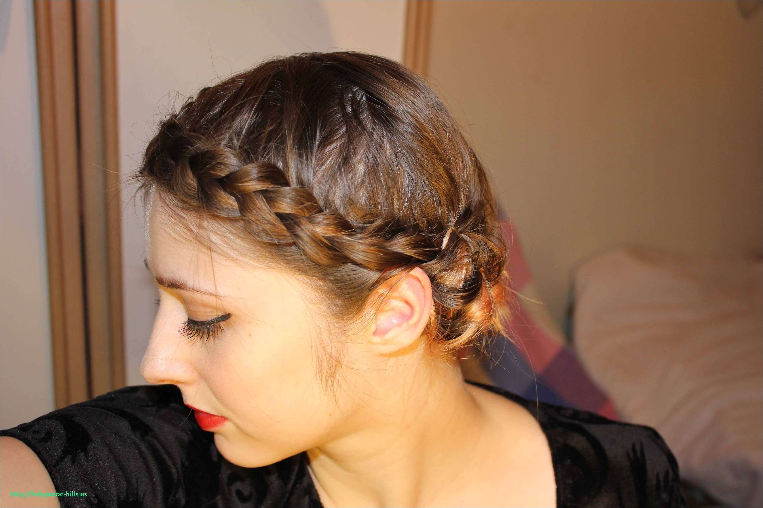Updo Hairstyles for Medium Hair Braided Updo Hairstyles Step by Step Lovely Pin Od Pou…