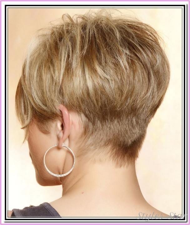short haircuts black women front back