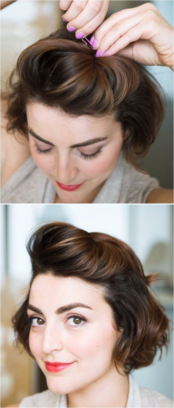 40 Easy Hairstyles No Haircuts for Women with Short Hair – How to Style Short Haircuts