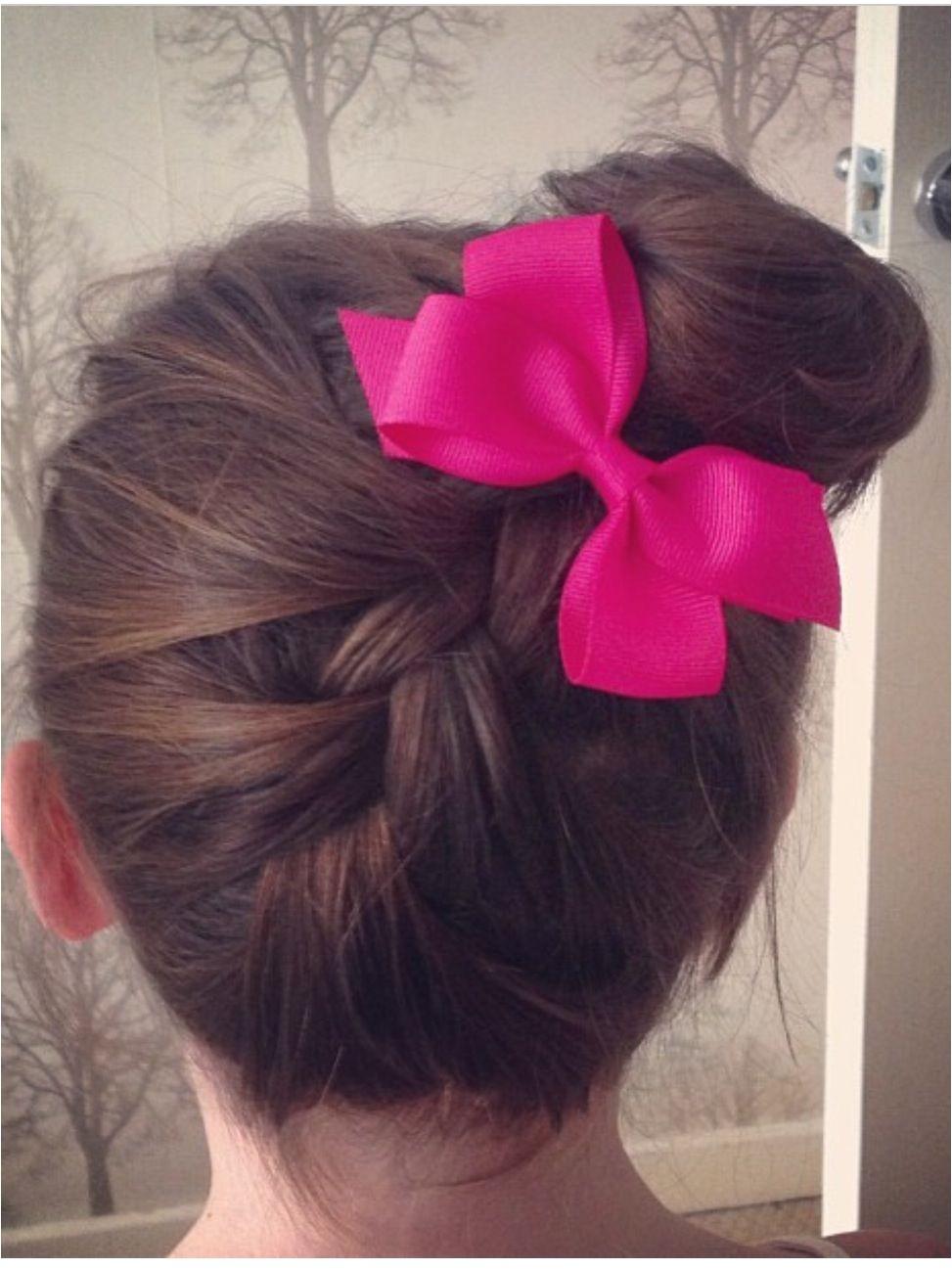 Beautiful bow hair
