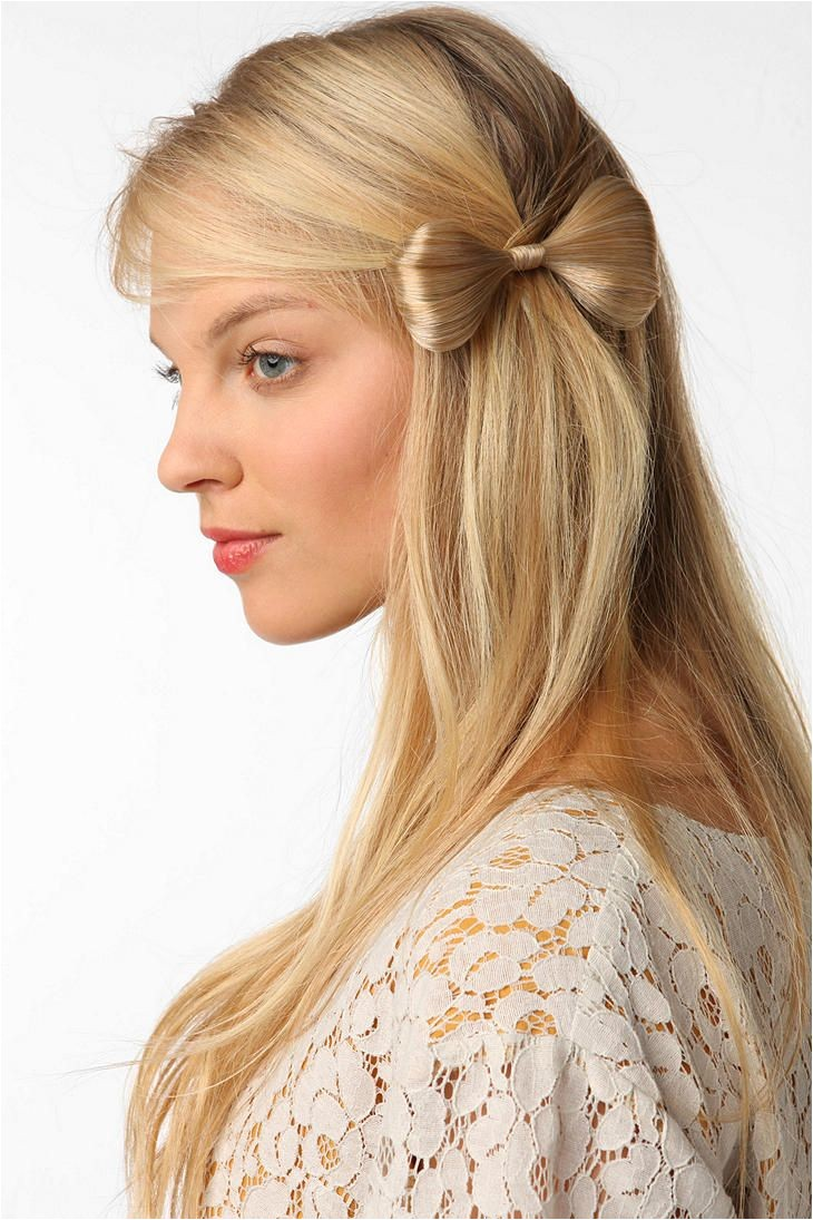 Yet another hair bow but I love it on the side like this