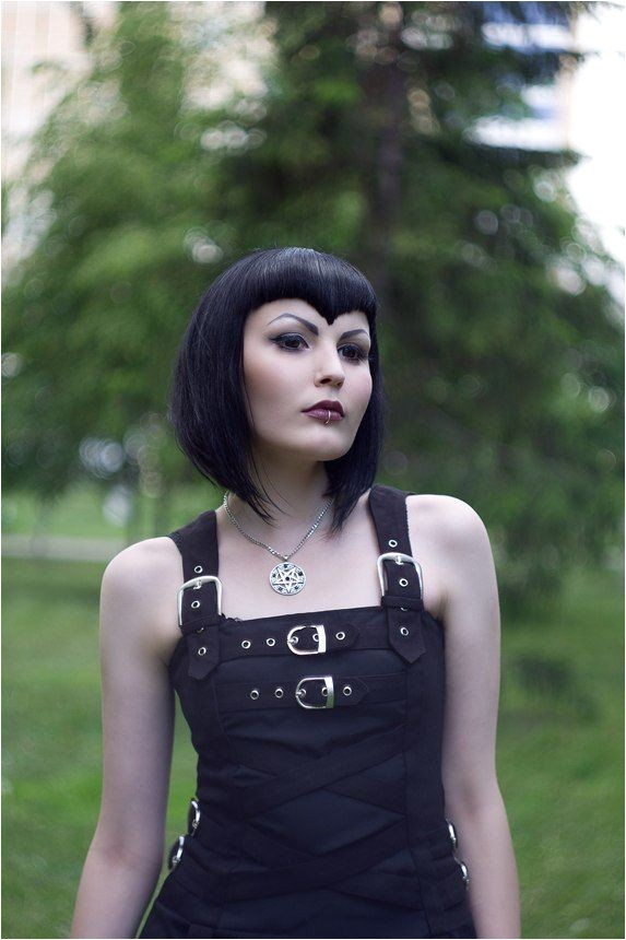 gothic bob hairstyles
