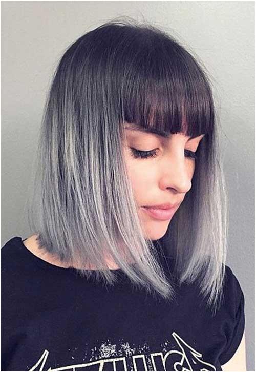 spectacular short grey hair pics