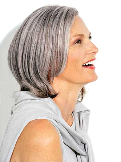 Gray Hair Bob Haircuts 14 Short Hairstyles for Gray Hair