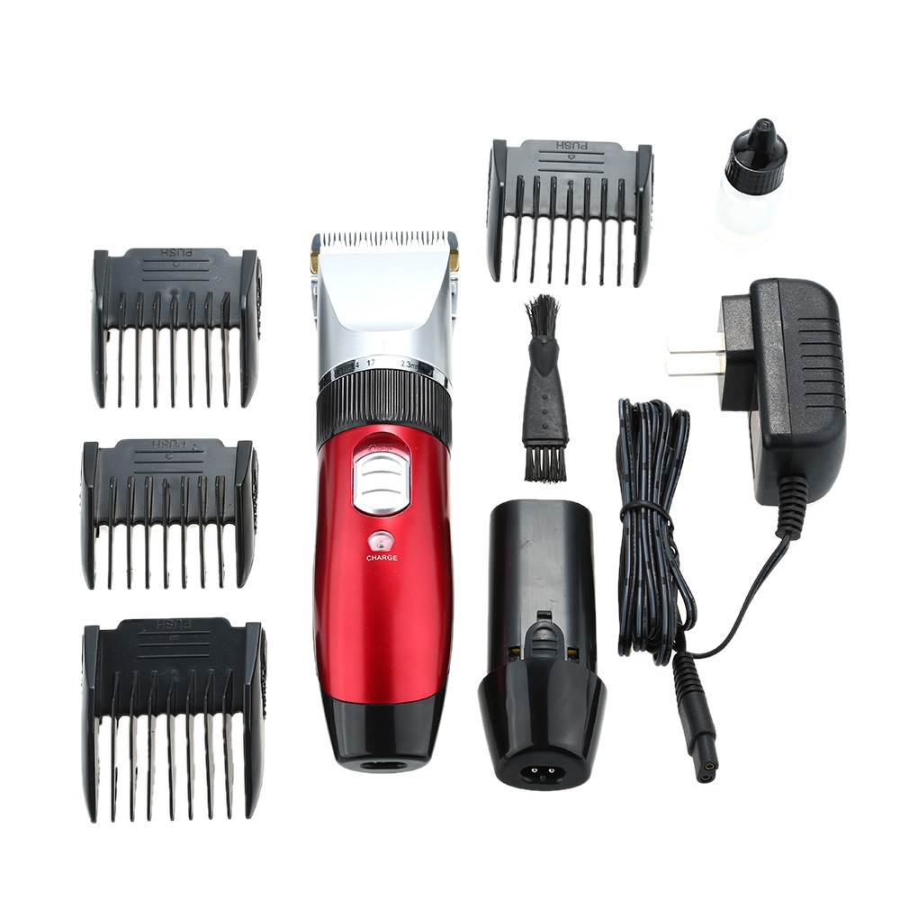 waterproof beard mustache electric hair trimmer clipper shaver hair cutting machine for men or baby haircut rechargeable p 5970