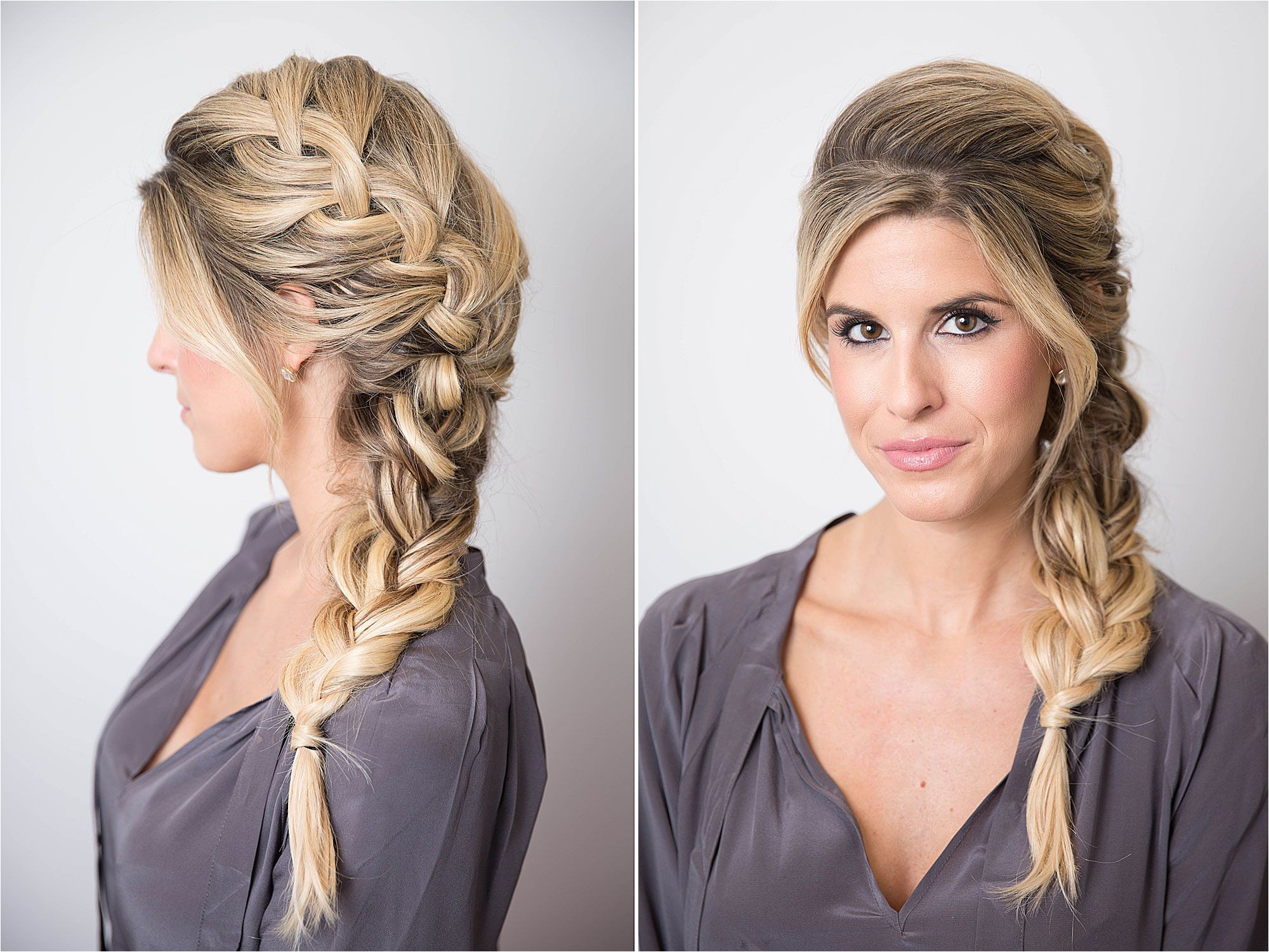 Hairstyle for College Going Girl 17 Braided Hairstyles with Gifs How to Do Every Type Of Braid