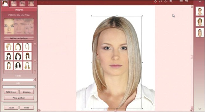 simple hairstyle for virtual hairstyle makeover virtual hairstudio
