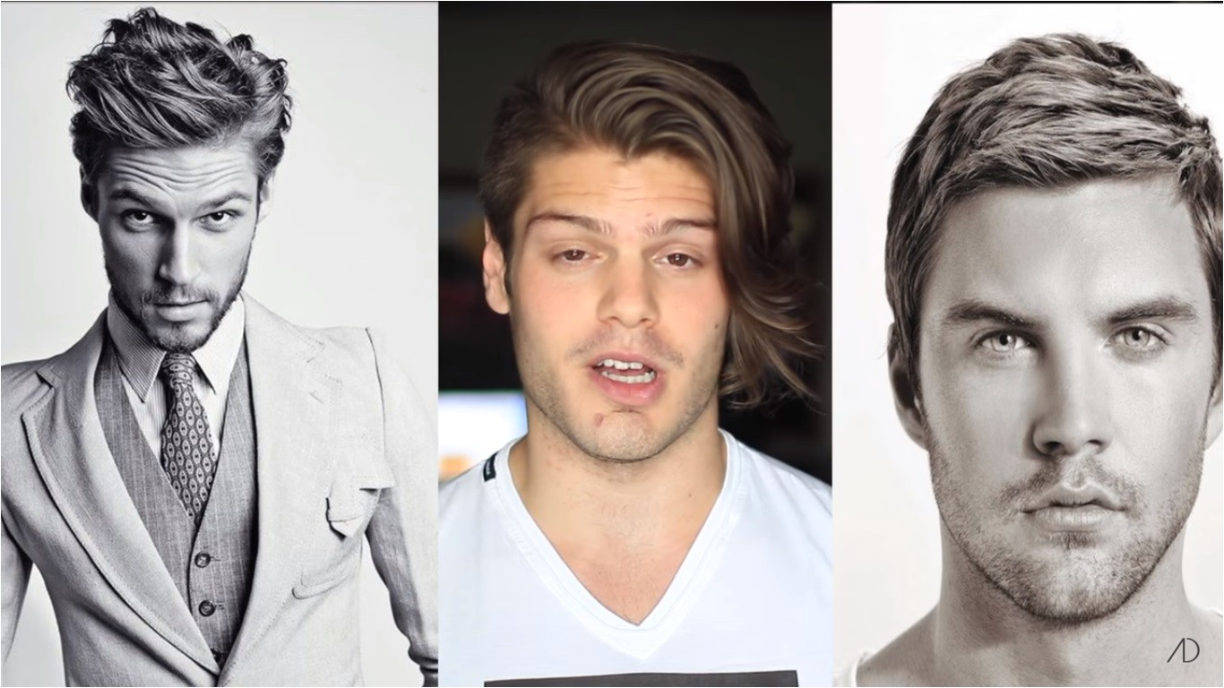 hairstyles by face shape male