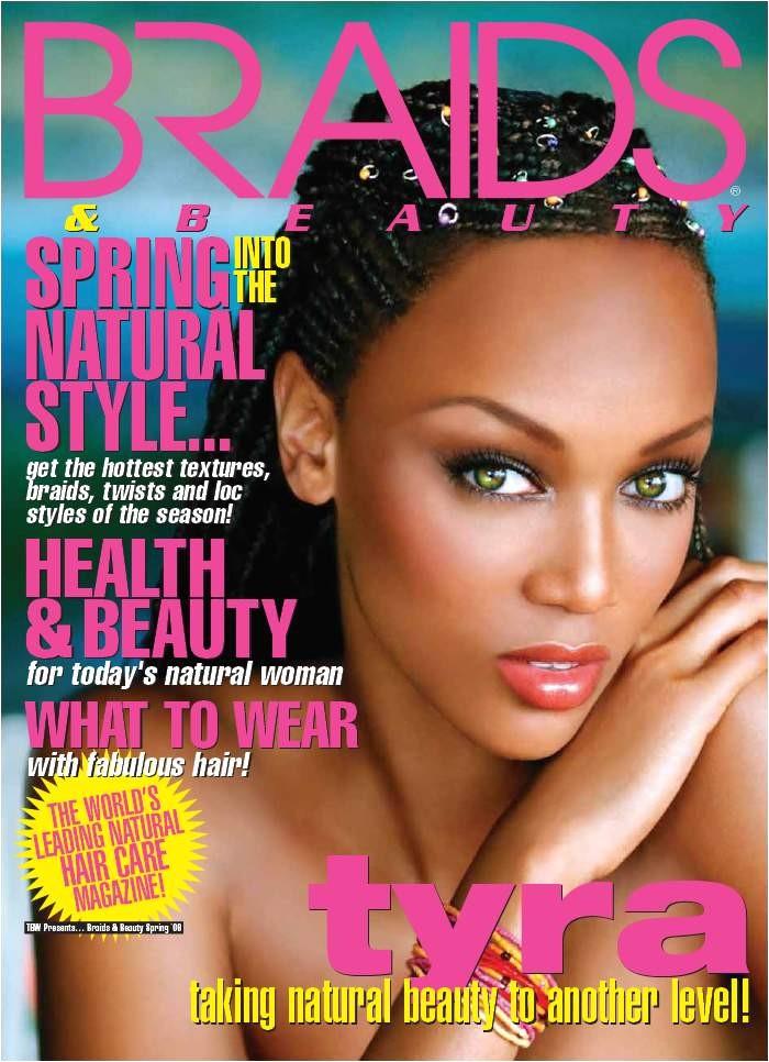 black hair magazine braids