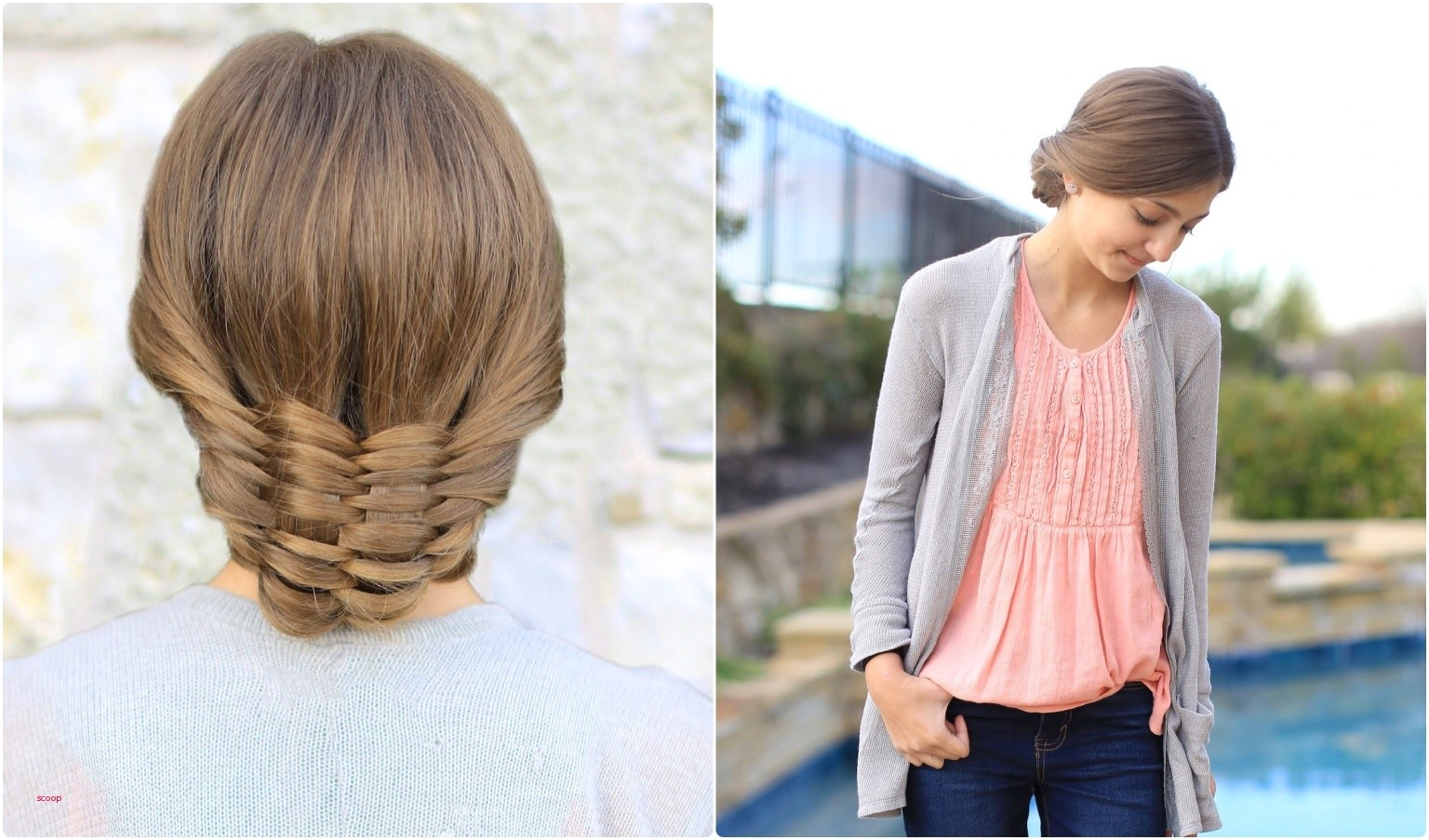 The Woven Updo from mindy cute girl hairstyles source youtube 0d acc3ed b09ec9c8cb996e