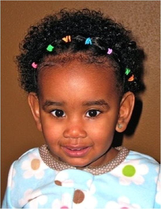 Hairstyles for Black Babies with Curly Hair 2018 Latest Black Baby Hairstyles for Short Hair