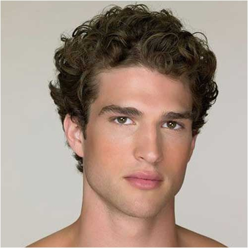 20 short curly hairstyles for men