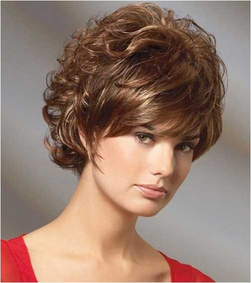 Hairstyles for Curly Hair Women Round Face Short Curly Hairstyles for Women with Round Faces