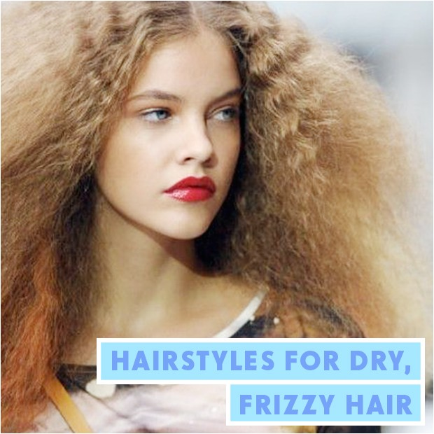 hairstyles for dry frizzy hair