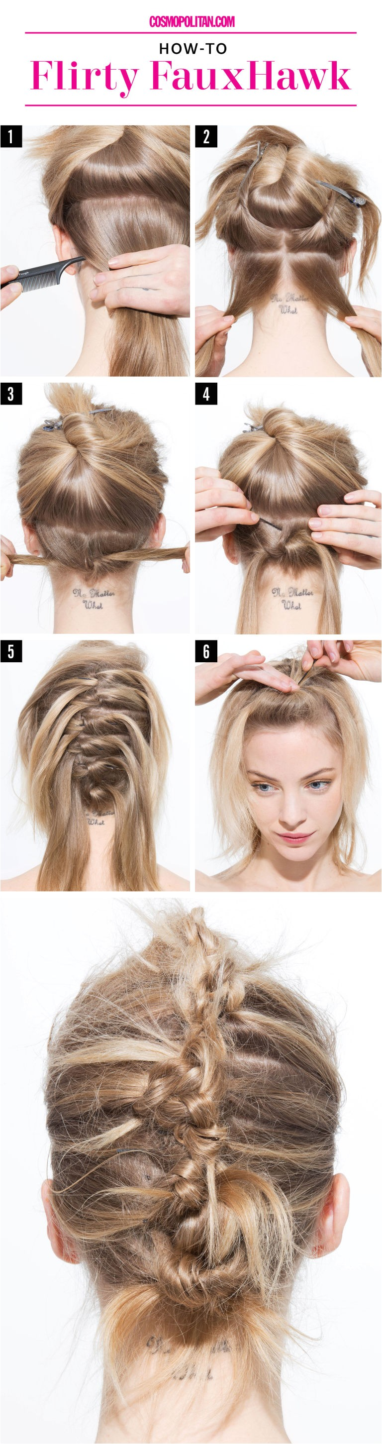 In need of a last minute prom evening formal hairstyle and don t want the cookie cutter updo your stylist might serve up