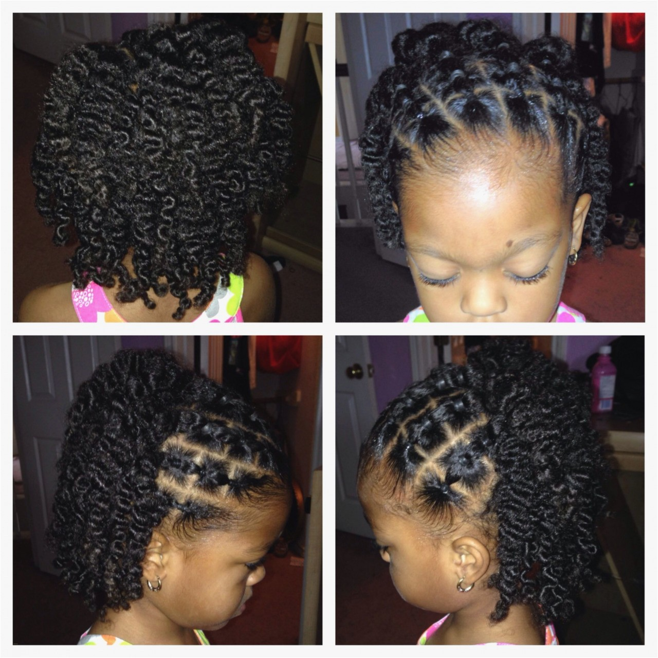 77 Hairstyles for Black Little Girls Unique Natural Hair Styles for Black Kids Fresh I Pinimg