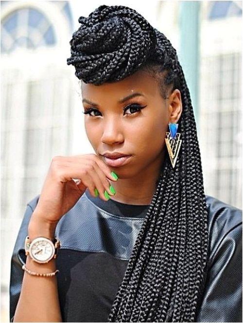 long box braids