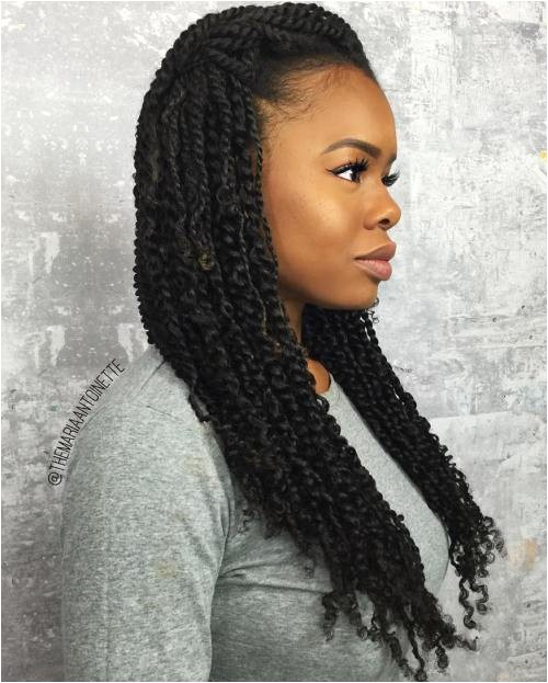 kinky twists hairstyles