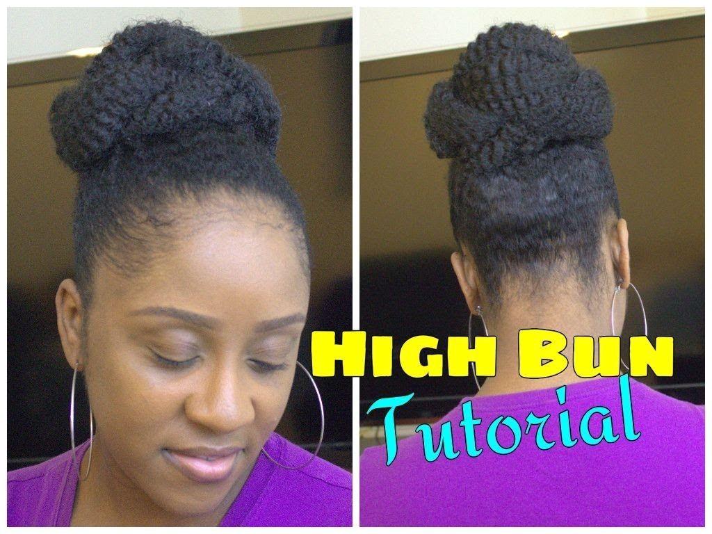 Easy Marley Braid High Bun