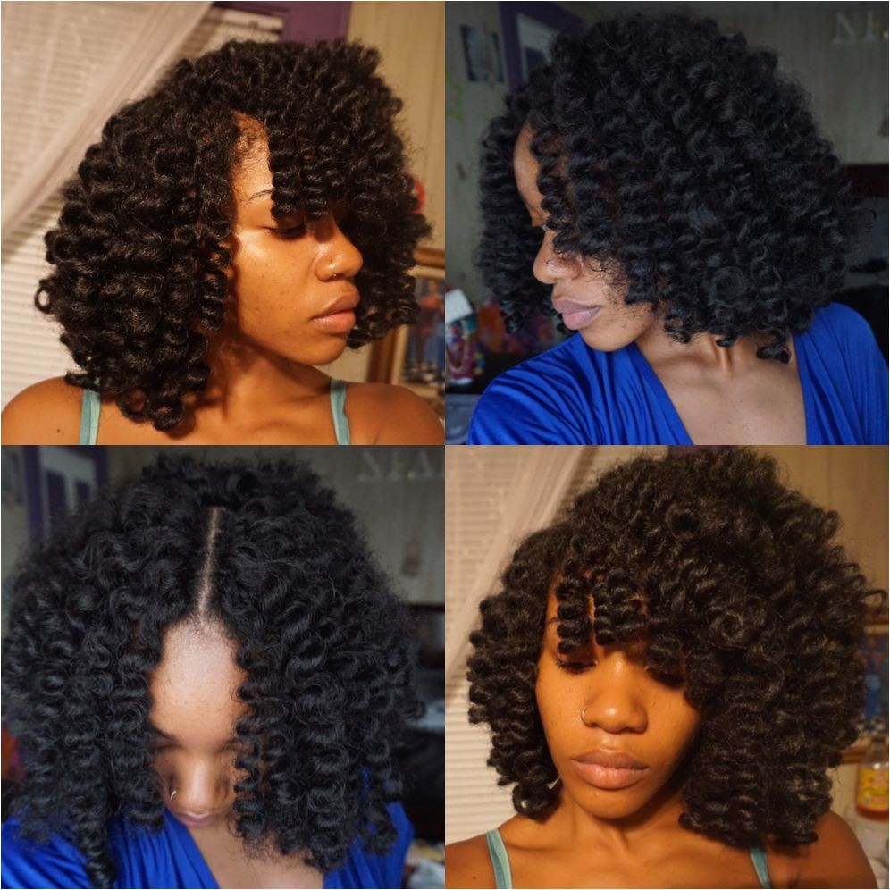 Knotless marley hair crochet weave protective style done by Niara Instagram